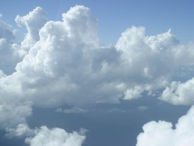 Clouds Float Over Belize-Stephen Alvarez-Photographic Print