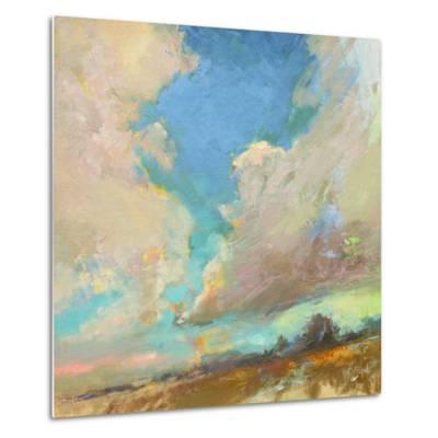 Clouds Got in My Way-Beth A^ Forst-Metal Print