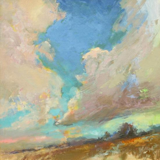 Clouds Got in My Way-Beth A^ Forst-Art Print