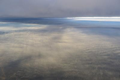 Clouds Outside the Airplane Window Coming in to Land in Atlanta, Georgia-Stephen Alvarez-Photographic Print