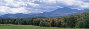 Clouds over a Grassland, Mt Mansfield, Vermont, USA