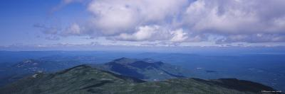 Clouds over a Landscape, Whiteface Mountain, Adirondack Mountains, New York, USA--Photographic Print