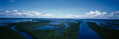 Clouds over a River, Amazon River, Anavilhanas Archipelago, Rio Negro, Brazil--Photographic Print