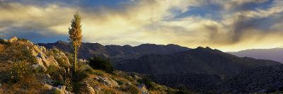 Clouds over Anza Borrego Desert State Park, San Diego County, California, Usa--Photographic Print