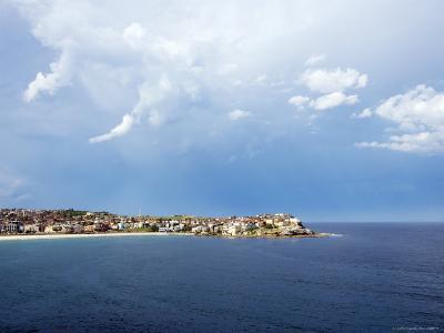 Clouds over Ben Buckler, Bondi Beach-Oliver Strewe-Photographic Print