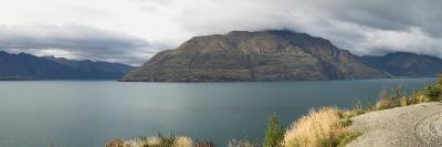 Clouds over Cecil Peak seen from Glenorchy-Queenstown Road, Lake Wakatipu, Otago Region, South I...--Photographic Print