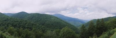 Clouds over Mountains, Blue Ridge Mountains, Asheville, Buncombe County, North Carolina, USA--Photographic Print