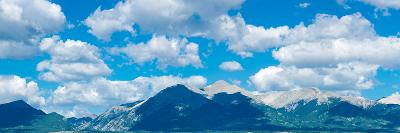 Clouds over Rocky Mountains, Salida, Colorado, USA--Photographic Print