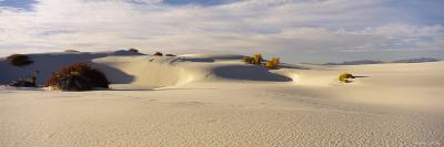 Clouds over Sand Dunes, White Sands National Monument, New Mexico, USA--Photographic Print