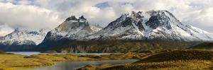 Clouds over Snowcapped Mountain, Grand Paine, Mt Almirante Nieto