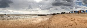 Clouds over the Beach, Southend-On-Sea, Essex, England
