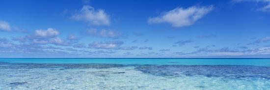 Clouds over the Pacific Ocean, Rangiroa, French Polynesia--Photographic Print