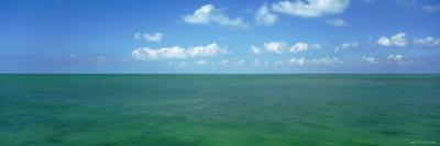 Clouds over the Sea, Gulf of Mexico, Florida Keys, Florida, USA--Photographic Print