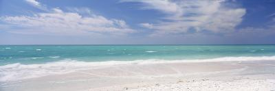 Clouds over the Sea, Lido Beach, St. Armands Key, Gulf of Mexico, Florida, USA--Photographic Print