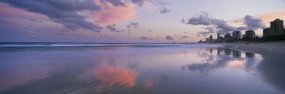 Clouds over the Sea, Main Beach, Surfers Paradise, Queensland, Australia--Photographic Print