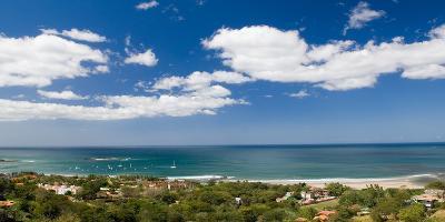 Clouds over the Sea, Tamarindo Beach, Guanacaste, Costa Rica--Photographic Print