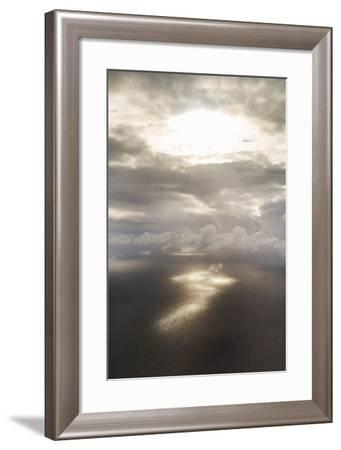 Clouds Over Water II-Karyn Millet-Framed Photo