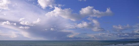 Clouds over Water, Montara, Pacific Ocean, California, USA--Photographic Print