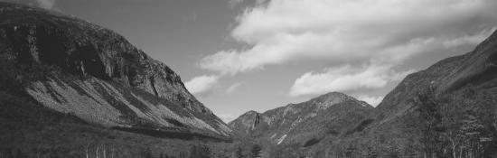 Clouds Over White Mountains, Franconia Notch State Park, New Hampshire, USA--Photographic Print