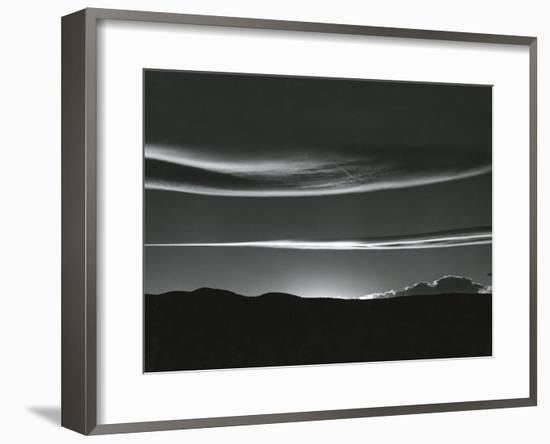 Clouds, Skyscape, 1981-Brett Weston-Framed Photographic Print