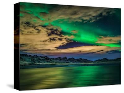 Aurora-Northern-Lights-Skyscape  CANVAS WALL ART PICTURE PRINT VARIOUS SIZES