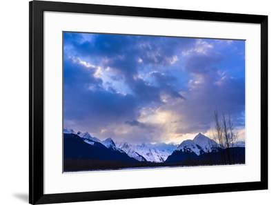 Cloudy Evening-Brenda Petrella Photography LLC-Framed Giclee Print