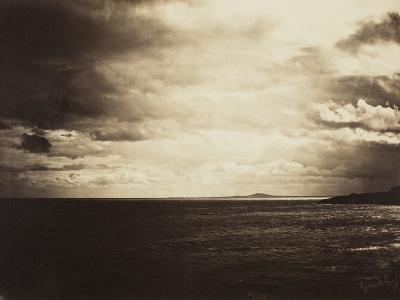 Cloudy Sky, Mediterranean Sea, 1857-Gustave Le Gray-Photographic Print