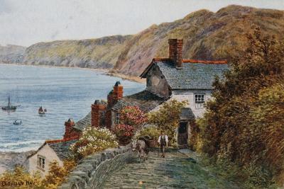 Clovelly Bay-Alfred Robert Quinton-Giclee Print