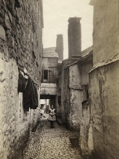 Clovelly, Fish Street, 1892--Photographic Print