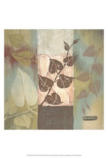 Clover Tile II-Wendy Russell-Art Print