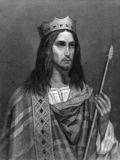 Clovis Ii, King of Neustria and Burgundy-G Levy-Giclee Print