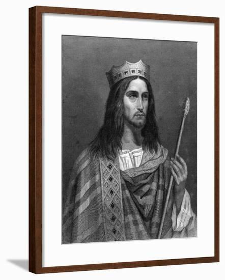 Clovis Ii, King of Neustria and Burgundy-G Levy-Framed Giclee Print