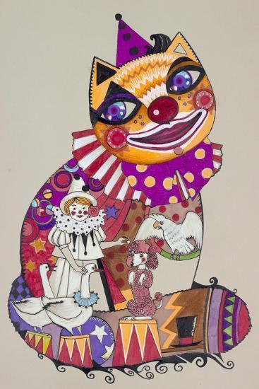 Clown 2-Oxana Zaika-Giclee Print