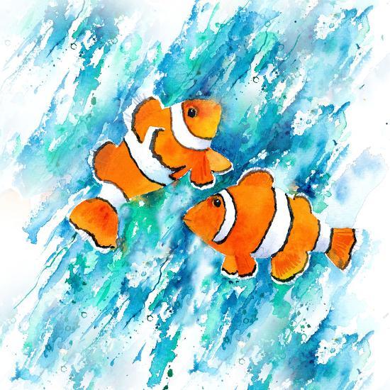 Clown Fish-Rachel McNaughton-Art Print