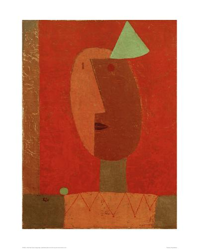 Clown-Paul Klee-Giclee Print