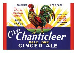 Club Chanticleer Pale Dry Ginger Ale