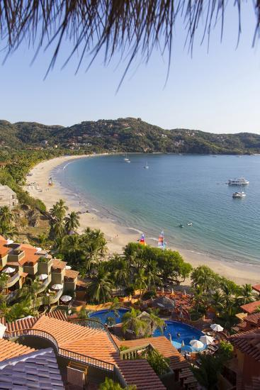 Club Intrawest, Playa La Ropa, Zihuatanejo, Guerrero, Mexico-Douglas Peebles-Photographic Print