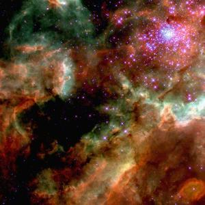 Cluster in Large Magellanic Cloud