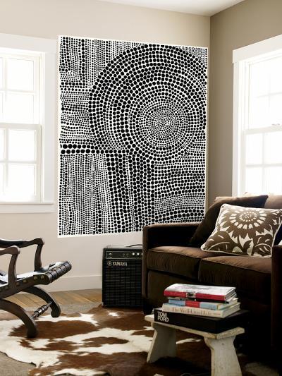 Clustered Dots B-Natasha Marie-Wall Mural