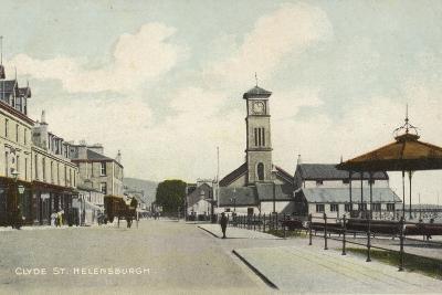Clyde Street, Helensburgh, Dunbartonshire- Scottish Photographer-Photographic Print