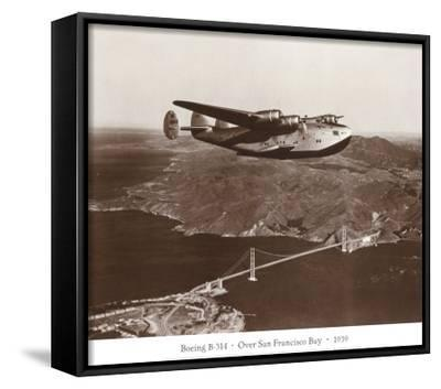 Boeing B-314 over San Francisco Bay, California 1939