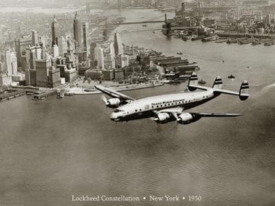 Lockheed Constellation, New York 1950