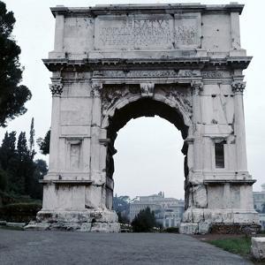 Arch of the Emperor Titus, 1st Century by CM Dixon