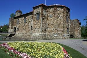 Colchester Castle, 1st Century by CM Dixon