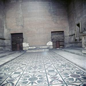 Curia of Diocletian, Interior of Senate House, Rome, c20th century by CM Dixon