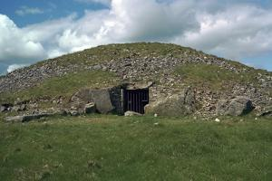 Entrance to Cairn T in the Loughcrew Hills, 35th Century Bc by CM Dixon