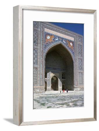 Facade of Shir-Dar Madrasa, 17th Century