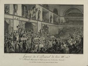 François Antoine de Boissy d'Anglas saluting Jean Féraud's head during the Prairial uprising, by CM Dixon