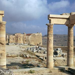 Lindos Acropolis on the Isle of Rhodes, 4th Century Bc by CM Dixon