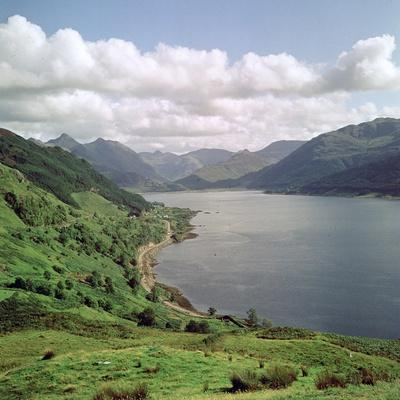 Loch Duick and the Five Sisters of Kintail